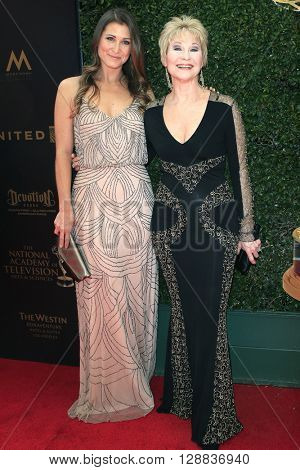 LOS ANGELES - May 1: Gabrielle Stone, Dee Wallace at The 43rd Daytime Emmy Awards Gala at the Westin Bonaventure Hotel on May 1, 2016 in Los Angeles, California