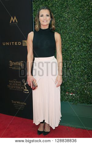 LOS ANGELES - May 1: Melissa Claire Egan at The 43rd Daytime Emmy Awards Gala at the Westin Bonaventure Hotel on May 1, 2016 in Los Angeles, California