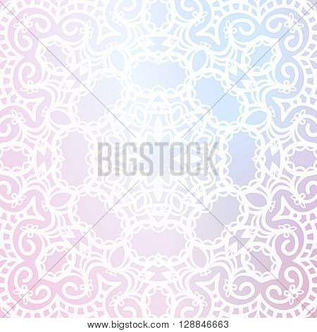 Abstract background, Round ornament texture.