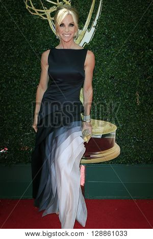 LOS ANGELES - May 1: Cindy Ambuehl at The 43rd Daytime Emmy Awards Gala at the Westin Bonaventure Hotel on May 1, 2016 in Los Angeles, California