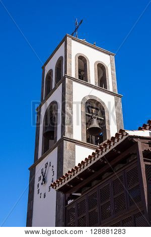 A church on the Canary Island Tenerife.