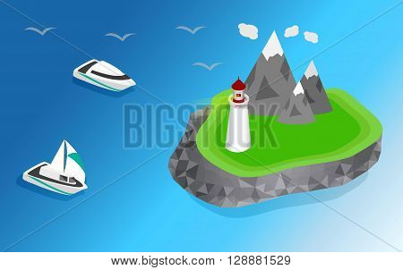 Light house Lighthouse Icon building Lighthouse maritime Lighthouse navigational guidance Lighthouse Image Lighthouse isometric Lighthouse Sign Lighthouse ships sailing to the lighthouse