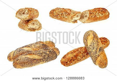 Collection of Fresh Buns.