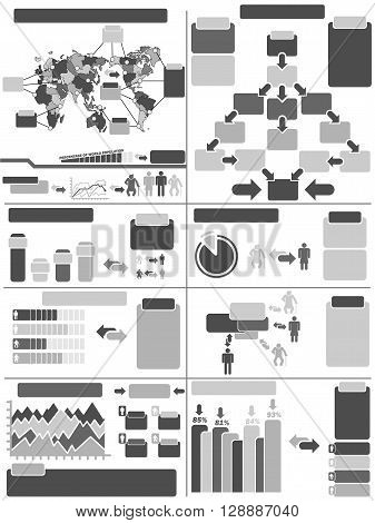 INFOGRAPHIC DEMOGRAPHICS  FOR WEB AND OTHER SIMPLE