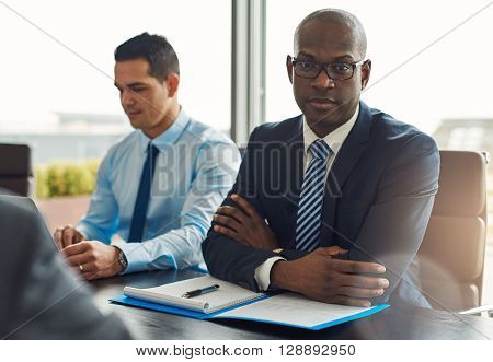 Executive Multiracial Business Team