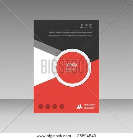 Abstract brochure design template. flyer design, book, print design, brochure template. Brochure abstract design. Brochure background.