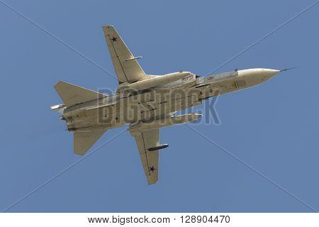 Soviet Bomber Sukhoi Su-24 Fencer