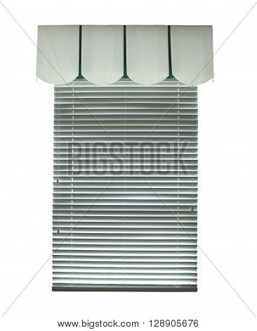 Window with blinds as an architectural element