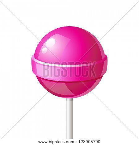 lollipop icon on white background