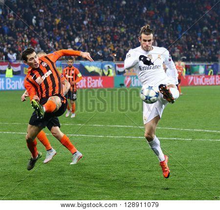 Uefa Champions League Game Shakhtar Vs Real Madrid