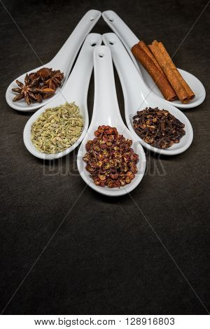Five Spice With Szechuan Peppercorns Focus