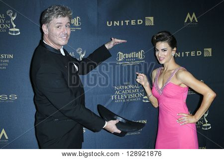 LOS ANGELES - May 1: Harlan Boll, Renee Marino at The 43rd Daytime Emmy Awards Gala at the Westin Bonaventure Hotel on May 1, 2016 in Los Angeles, California