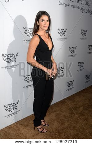 LOS ANGELES - MAY 7:  Nikki Reed at the Humane Society Of The United States LA Gala at the Paramount Studios on May 7, 2016 in Los Angeles, CA