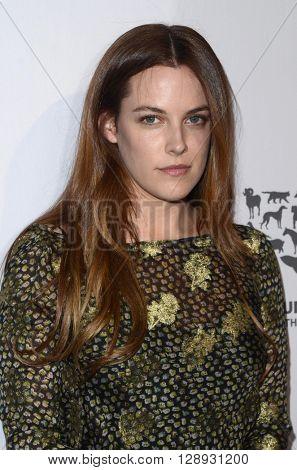 LOS ANGELES - MAY 7:  Riley Keough at the Humane Society Of The United States LA Gala at the Paramount Studios on May 7, 2016 in Los Angeles, CA