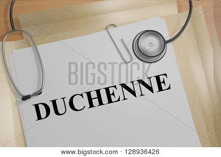 Duchenne Medicial Concept
