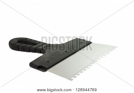 palette knife isolated on a white background