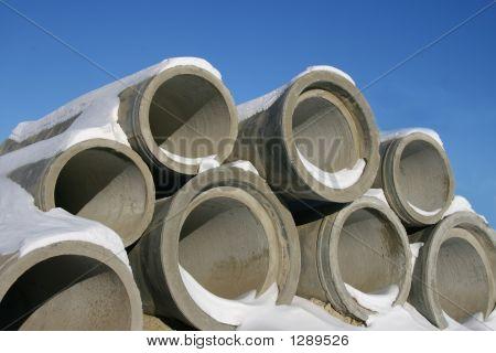 Concrete Pipes.