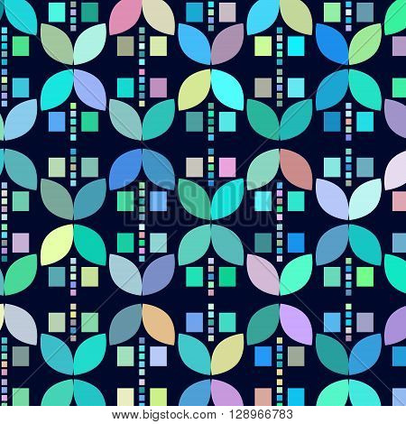 Geometric odd colorful abstract background vector illustration