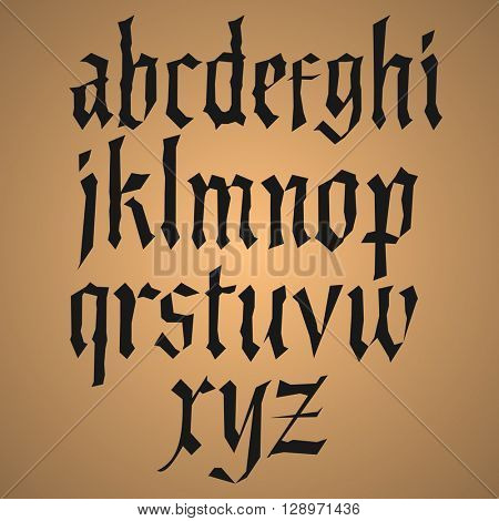 Modern Gothic Style Font