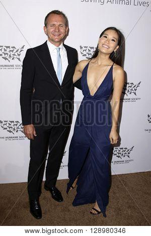 LOS ANGELES - MAY 7:  Sebastian Roche at the Humane Society Of The United States LA Gala at the Paramount Studios on May 7, 2016 in Los Angeles, CA