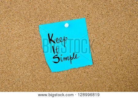 Business Acronym Kis Keep It Simple