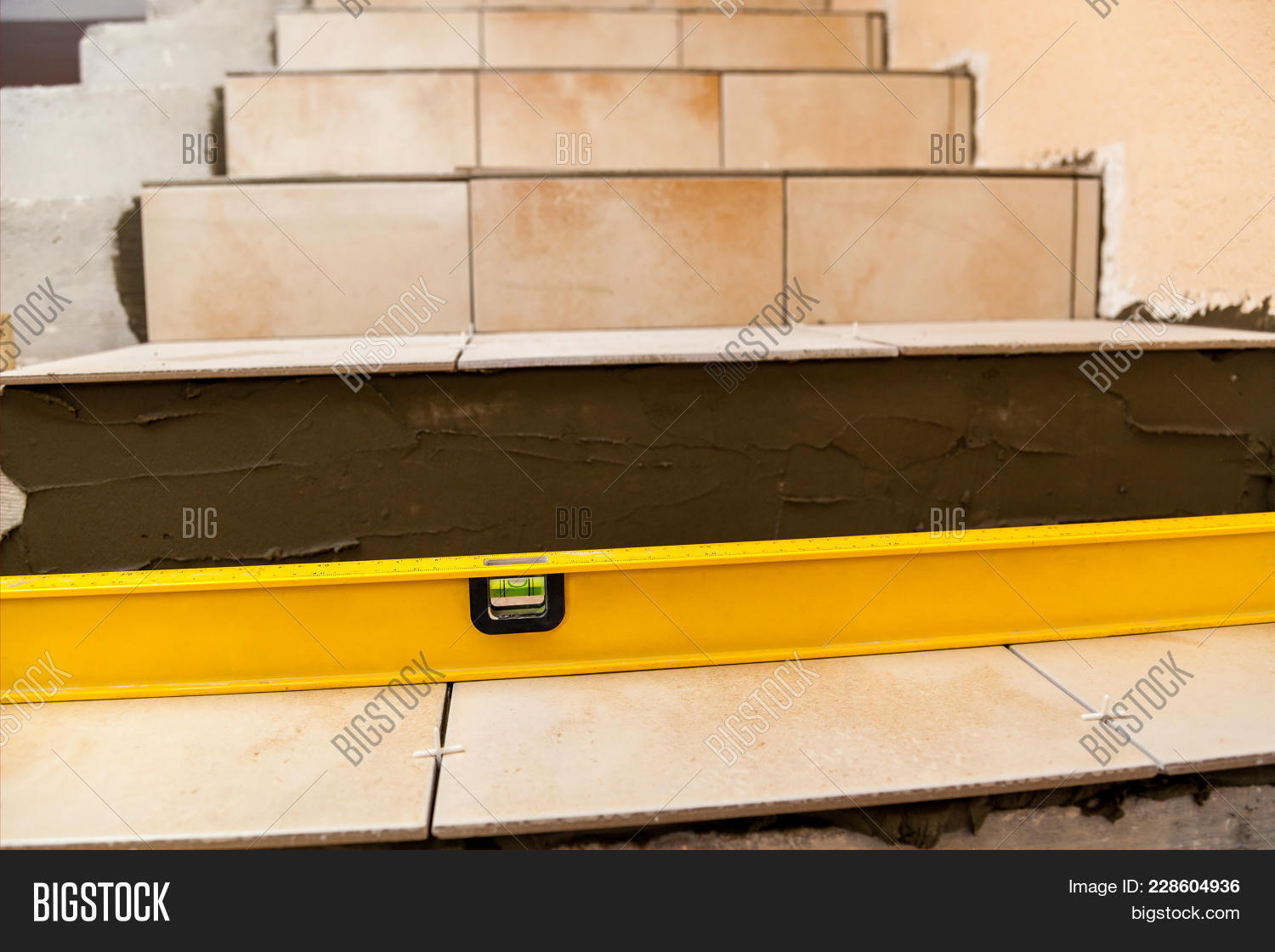 Ceramic tiles tools tiler floor image photo bigstock ceramic tiles and tools for tiler floor tiles installation home improvement renovation tile dailygadgetfo Image collections