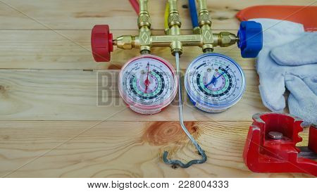 Manometers Measuring Equipment For Filling Air Conditioners