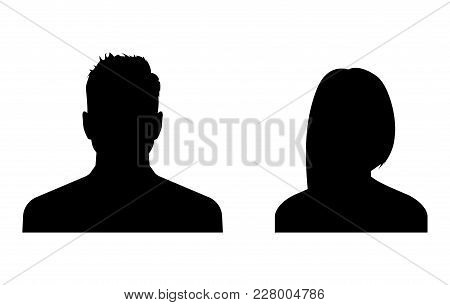Business Avatars, Profile Icons Set. Stock Vector