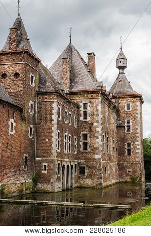 Part Of The Mosan Renaissance Commandery Castle At Sint-pieters-voeren, Belgium