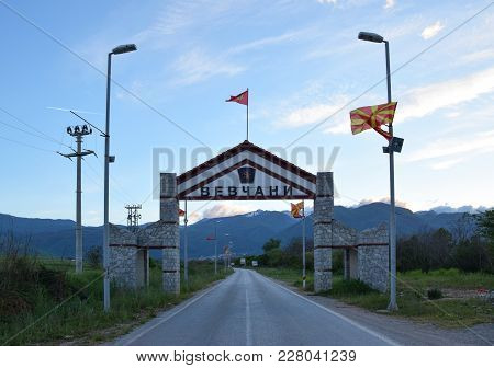 Republic Of Vevcani - Not Recognition Independent Village In Macedonia.