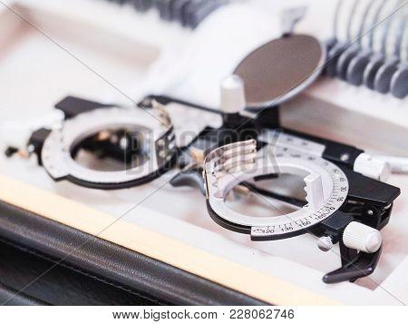 Medical optometry set