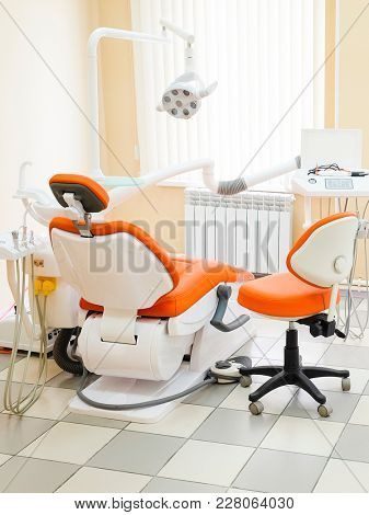 Modern dental room