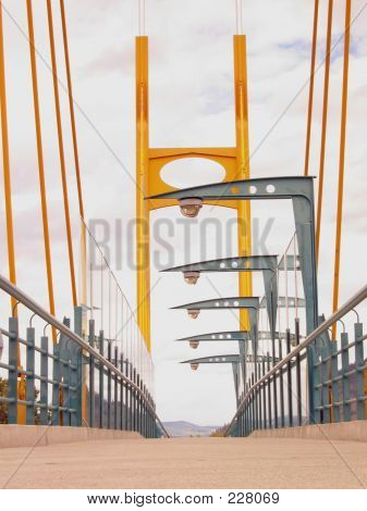 Suspension Bridge Walkway