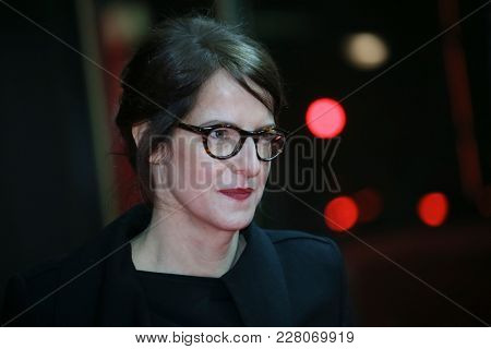Ursula Meier attends the 'Shock Waves' premiere during the 68th  Film Festival Berlin at Zoo Palast on February 19, 2018 in Berlin, Germany.