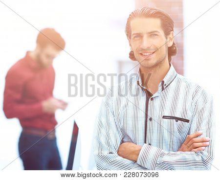 portrait of a successful Manager