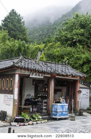 Small Market On Mountain Top