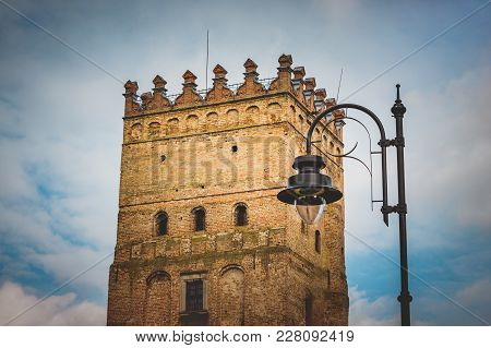 Tower Of  Medieval Castle,  Fortification,  Historical Treasure,  Tourist Route
