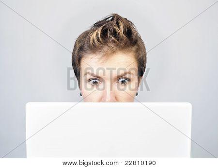 Surprised Businesswoman