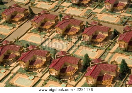 Model Of Town