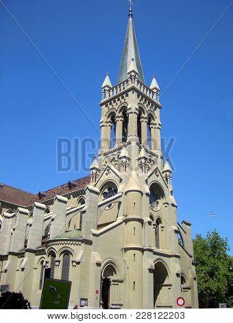 Church Of St. Peter And Paul In Bern, Switzerland