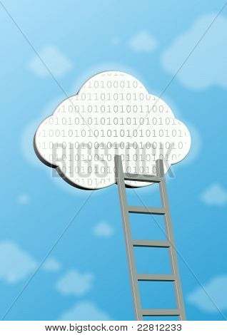 Symbol Of Cloud Computing