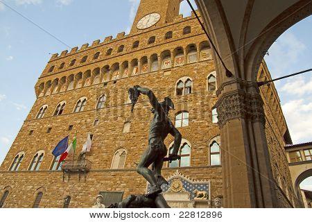 Perseo And Palazzo Vecchio