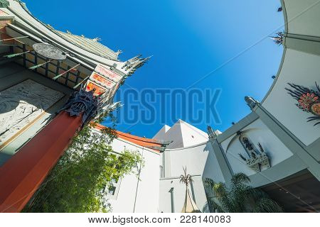 Los Angeles, Ca, Usa - November 02, 2016: Tcl Chinese Theater In Hollywood