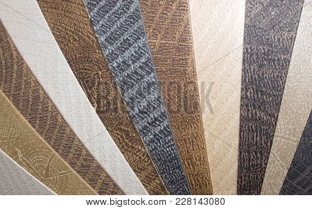 Samples Of Pvc Edgebanding For Particle Board