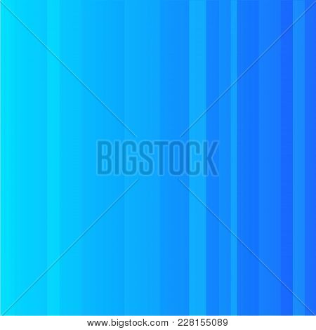 Striped Pattern With Bright Colors. Blue Striped Background