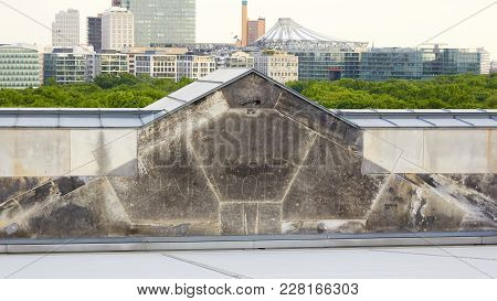 Berlin, Germany - May 29, 2014: Astrakhan Makarov - Russian Graffiti ( Signs ) Of Soviet Soldiers In
