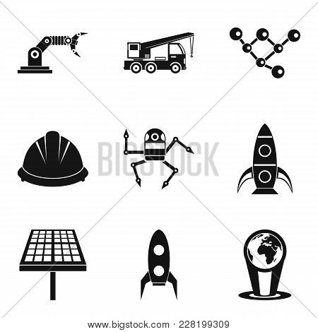 Success In Work Icons Set. Simple Set Of 9 Success In Work Vector Icons For Web Isolated On White Ba