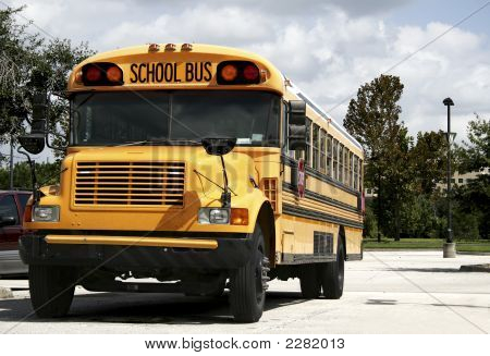 Parked Schoolbus
