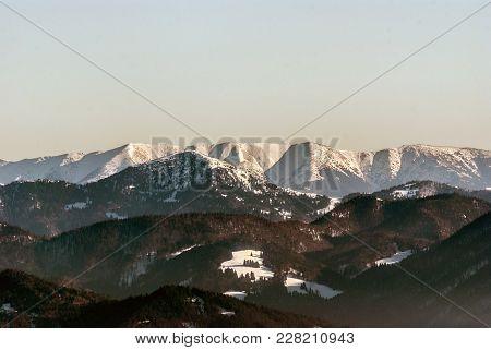 Borisov In Velka Fatra And Velka Chochula, Mala Chochula And Prasiva Hills In Nizke Tatry Mountains