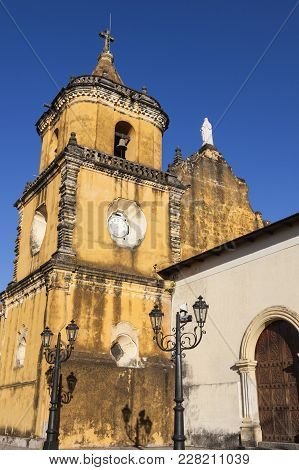 Church The Recollection In Leon. Leon, Nicaragua.